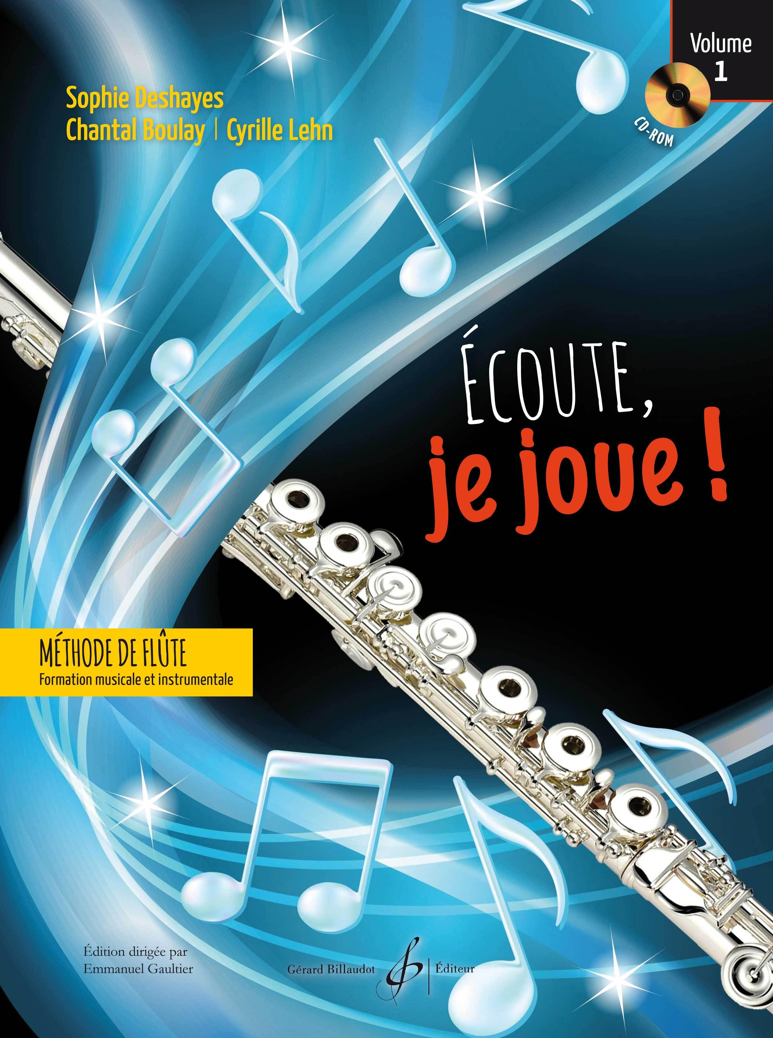 ECOUTE JE JOUE ! VOLUME 1 - FLUTE - CD OFFERT