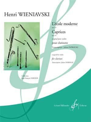 L'ECOLE MODERNE OPUS 10 - CAPRICES OPUS 18