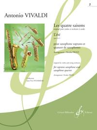 LES QUATRE SAISONS - L'ETE OPUS 8 N 2