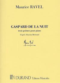 GASPARD DE LA NUIT PIANO