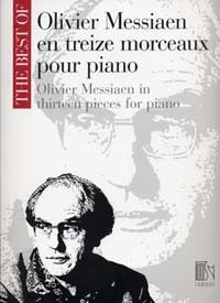 THE BEST OF OLIVIER MESSIAEN PIANO