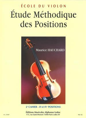 HAUCHARD: ETUDE DES POSITIONS VOLUME 2 VIOLON