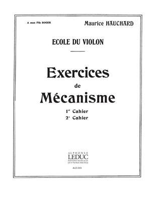 M. HAUCHARD: EXERCICES DE MECANISME VOL.2 (VIOLIN SOLO)