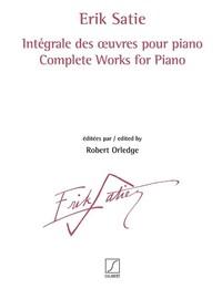 INTEGRALE DES  UVRES POUR PIANO VOLL. 1 - 3 PIANO