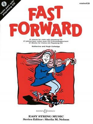FAST FORWARD POUR VIOLON + CD