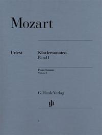 SONATES POUR PIANO, VOLUME I