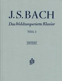 LE CLAVIER BIEN TEMPERE 1 BWV 846-869 (RELIURE LIN)