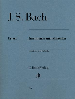 INVENTIONS ET SINFONIES (INVENTIONS A 2 ET 3 VOIX) BWV772 A 801 EDITION REVISEE --- PIANO