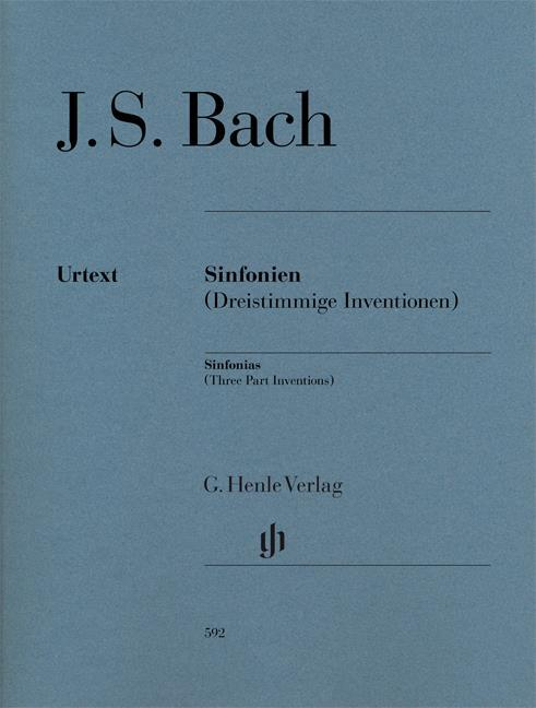 INVENTIONS A 3 VOIX BWV787-801 EDITION REVISEE --- PIANO