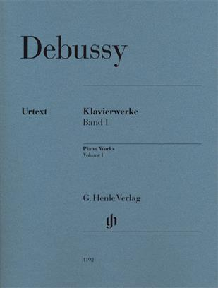 OEUVRES POUR PIANO, VOLUME 1