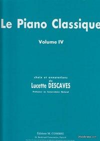 LE PIANO CLASSIQUE VOL.4 --- PIANO