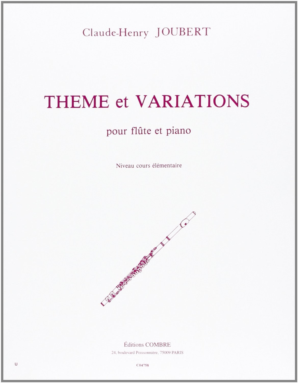 THEME ET VARIATIONS --- FLUTE ET PIANO