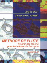 METHODE DE FLUTE VOL.2 (16 LECONS 1 CYCLE) --- FLUTE