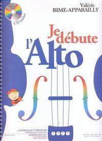 VALERIE BIME-APPARAILLY - JE DEBUTE L ALTO