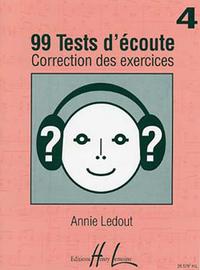 99 TESTS D'ECOUTE VOL.4 CORRIGES