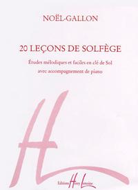 LECONS EN CLE DE SOL (20) AVEC ACCOMPAGNEMENT