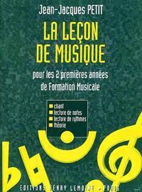 LECON DE MUSIQUE 1ERE ET 2EME ANNEES --- FORMATION MUSICALE