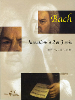 INVENTIONS A  2 ET 3 VOIX --- PIANO
