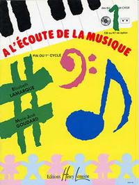 A L'ECOUTE DE LA MUSIQUE CYCLE 1