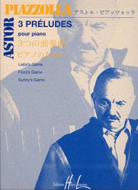 PRELUDES (3) --- PIANO