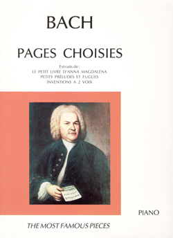 PAGES CHOISIES --- PIANO