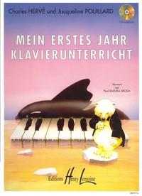 MEIN ERSTES JAHR KLAVIERUNTER --- PIANO
