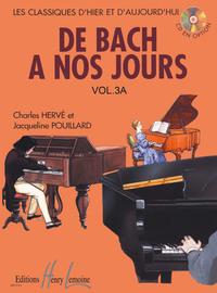 DE BACH A  NOS JOURS VOL.3A --- PIANO