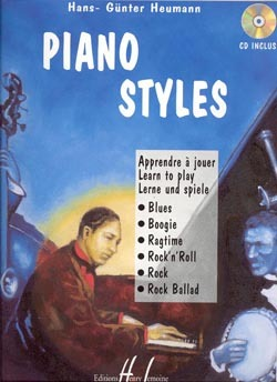 PIANO STYLES + CD --- PIANO OU CLAVIER