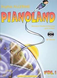 PIANOLAND VOL.1 + CD --- PIANO