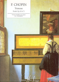 ETUDE OP.10 N3 TRISTESSE --- PIANO