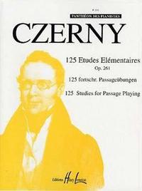 ETUDES ELEMENTAIRES (125) OP.261 --- PIANO