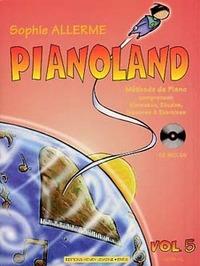PIANOLAND VOL.5 + CD --- PIANO