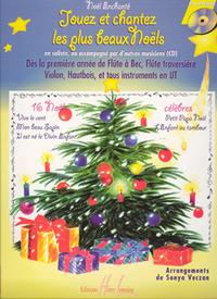 NOEL ENCHANTE VOL1 + CD --- 1 INSTRUMENT EN UT ET PIANO