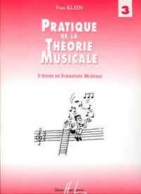 PRATIQUE DE LA THEORIE MUSICALE VOL.3