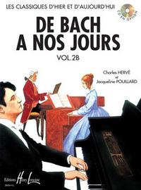 DE BACH A  NOS JOURS VOL.2B --- PIANO