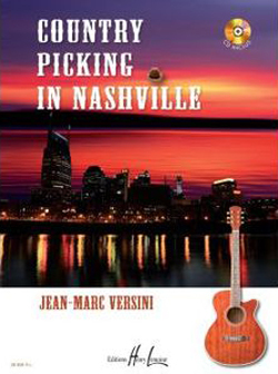 COUNTRY PICKING IN NASHVILLE + CD --- GUITARE