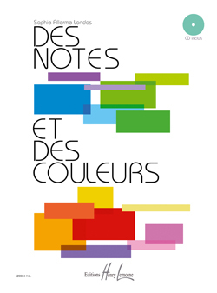 DES NOTES ET DES COULEURS + CD --- FORMATION MUSICALE