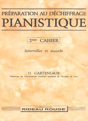 PREPARATION AU DECHIFFRAGE PIANISTIQUE - 2EME CAHIER PIANO
