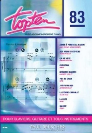 TOP TEN N83 --- CHANT ET ACCOMPAGNEMENT