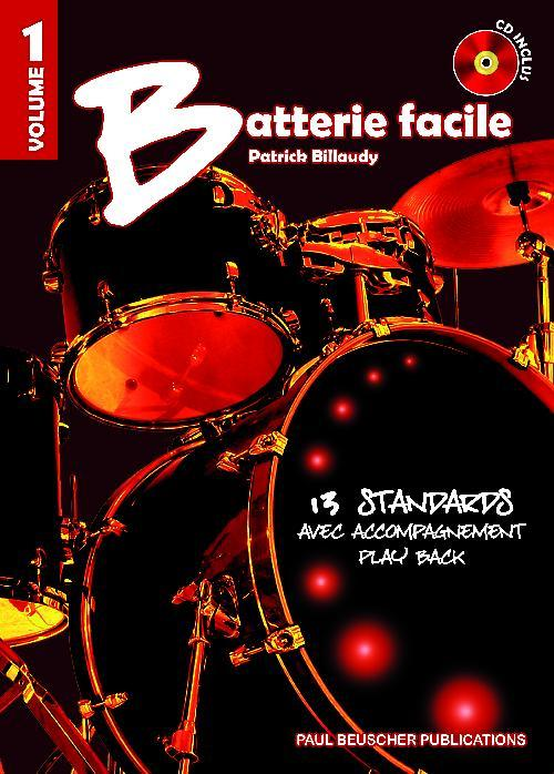 BATTERIE FACILE VOL.1 + CD --- BATTERIE