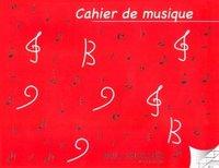 CAHIER DE MUSIQUE 6 PORTEES ET PAGES D'ECRITURE SEYES
