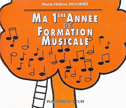 MA 1ERE ANNEE DE FORMATION MUSICALE --- FORMATION MUSICALE - CD
