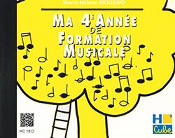 MA 4EME ANNEE DE FORMATION MUSICALE --- FORMATION MUSICALE - CD