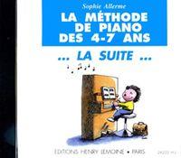 METHODE DE PIANO LA SUITE --- PIANO