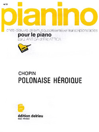 POLONAISE HEROIQUE - PIANINO 77 --- PIANO