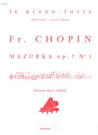 MAZURKA OP.7 N1 --- PIANO