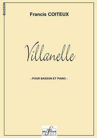 VILLANELLE POUR BASSON ET PIANO