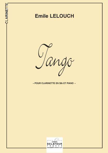 TANGO POUR CLARINETTE ET PIANO