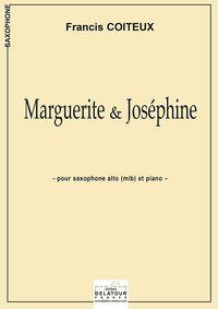 MARGUERITE ET JOSEPHINE POUR SAXOPHONE ALTO ET PIANO