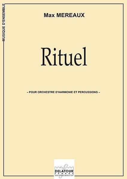 RITUEL POUR ORCHESTRE D'HARMONIE ET PERCUSSIONS (MATERIEL)